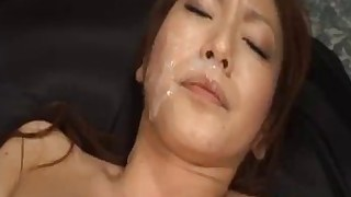 bukkake chick couple cumshot facials hot japanese uncensored