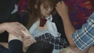 gang-bang fuck bus beauty juicy pretty public rough full-movie