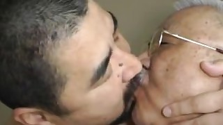daddy double-penetration granny japanese