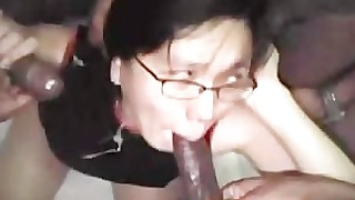 black gang-bang homemade innocent milf oriental wife