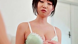 japanese boobs blowjob big-tits threesome pornstar