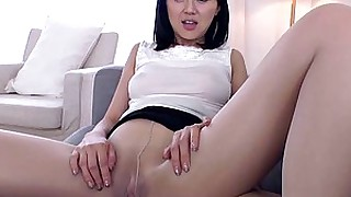 beauty blowjob brunette fetish fingering japanese masturbation nylon panties