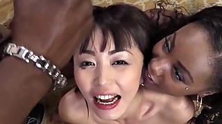 cum big-cock blowjob black hardcore facials ebony threesome interracial