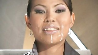 hot homemade facials cumshot bukkake ass