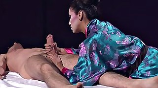 ass brunette cumshot fetish foot-fetish geisha hot massage