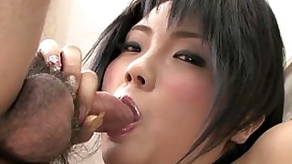 mistress uncensored party japanese hot cumshot brunette blowjob