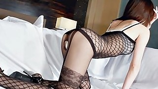 korean ass lingerie prostitut japanese posing stocking