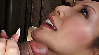 brunette blowjob babe japanese hot facials